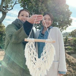 マクラメ編みWS